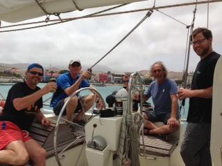 Oceaan Crew oversteek