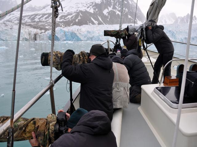 photographers Spitsbergen