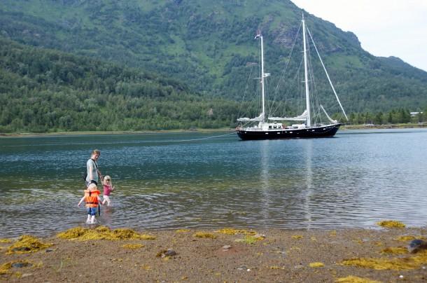 Lofotes anchorage