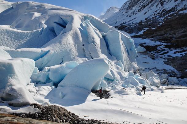 Svartisen glacier Norway