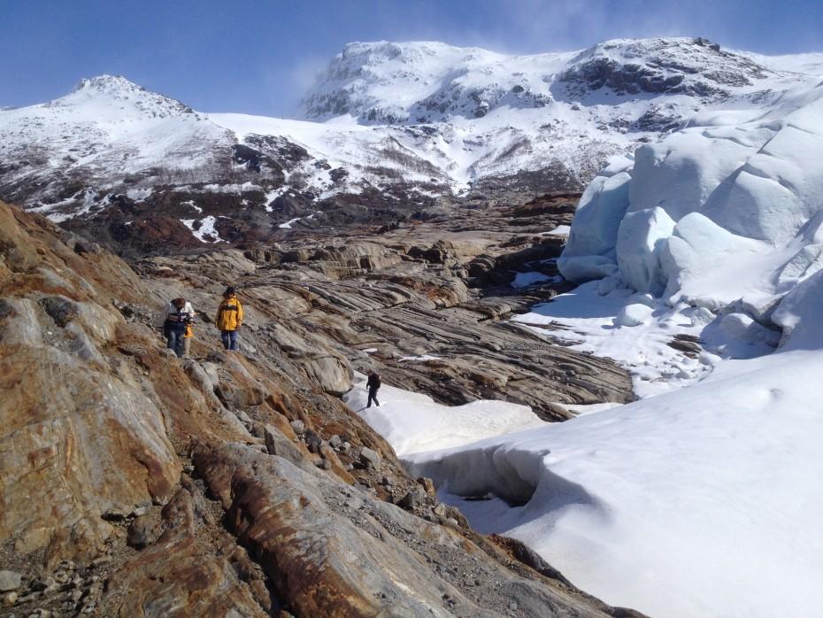 Swartisen gletsjer Noorwegen