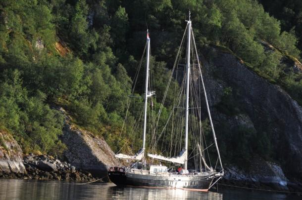 Anchoring Ofoten Norway