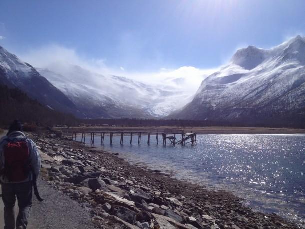 wandelen-naar-svartisengletsjer-noorwegen