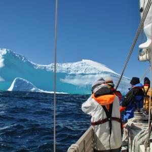 onder der indruk op antarctica