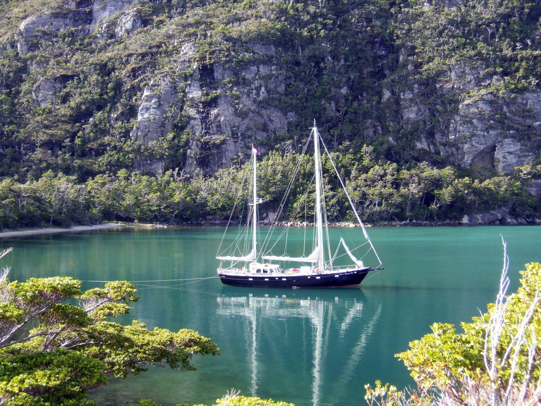 Patagonië Zeilen expeditie met de Anne-Margaretha