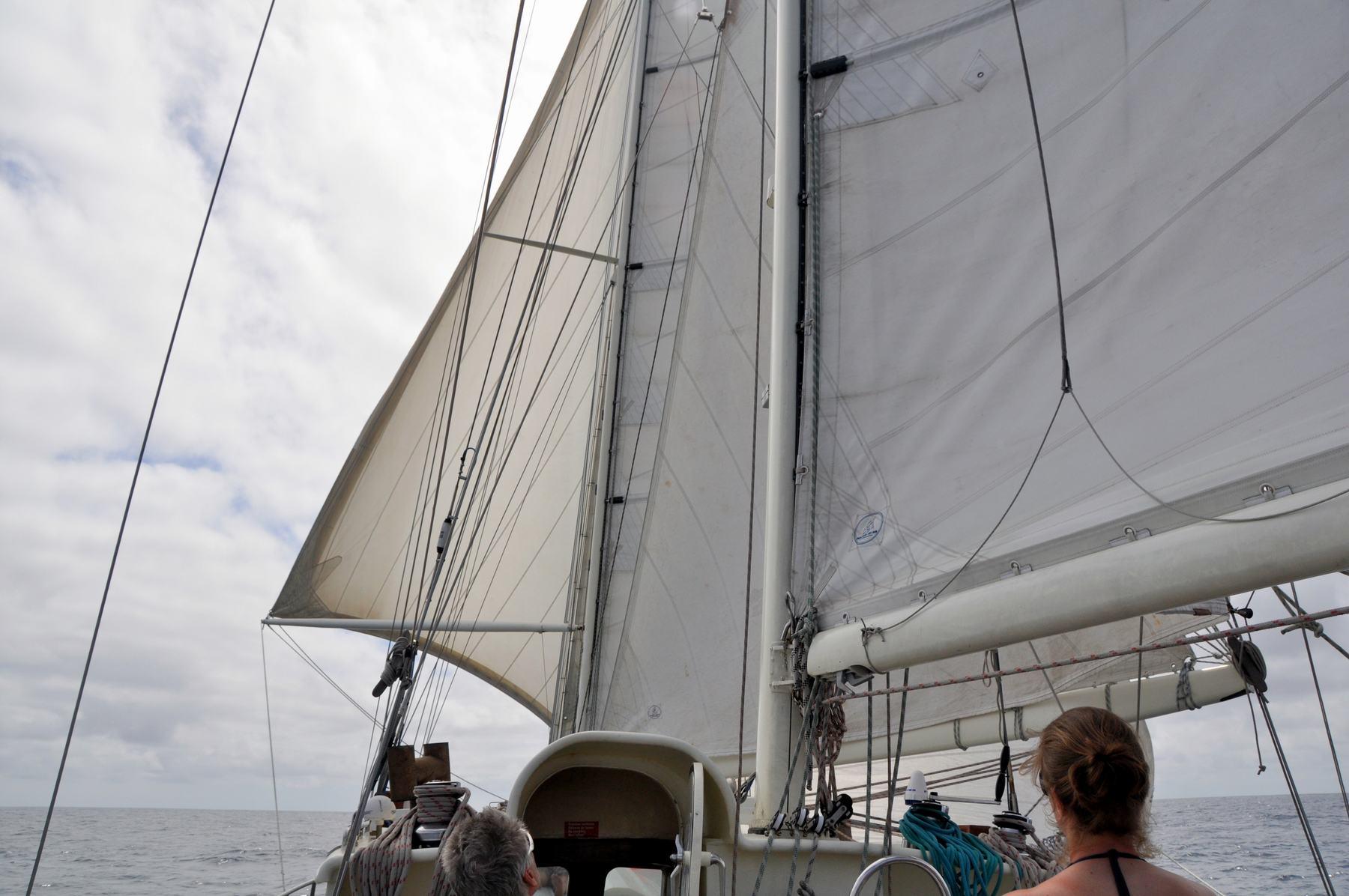 Zeilen over de Oceaan met de Anne-Margaretha