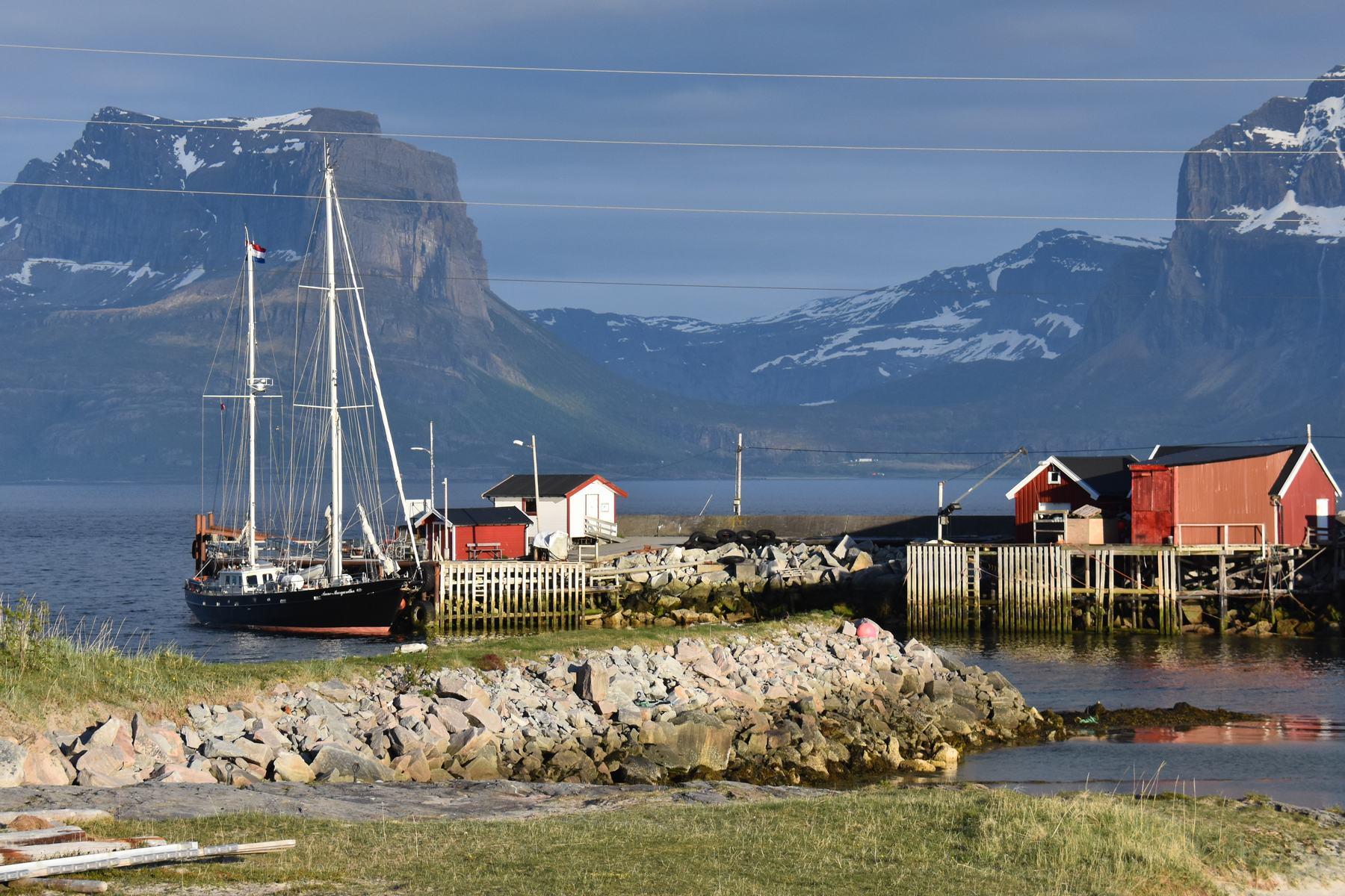 langs de Noorse kust